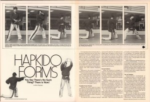 Karate KungFu Illustrated February 1986 Hapkido Forms-Fariborz Azhakh_Mike Replogle_pg44-5