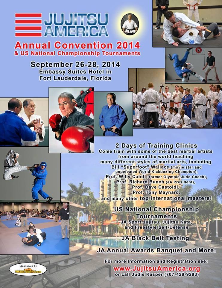 Jujitsu American Annual Convention 2014