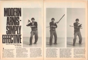 Modern Arnis- Simply Effective, Black Belt September 1981, VOL. 19, NO. 9_Pg22-3