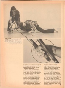 Modern Arnis- Simply Effective, Black Belt September 1981, VOL. 19, NO. 9_Pg26
