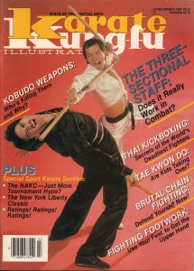 Karate-KungFu-Illustrated-March-1987-Vol.-19-No.-3-Versatile-and-Volatile-The-Three-Sectional-Staff-by-Mike-Replogle
